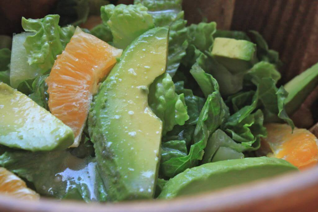 avocado orange salad