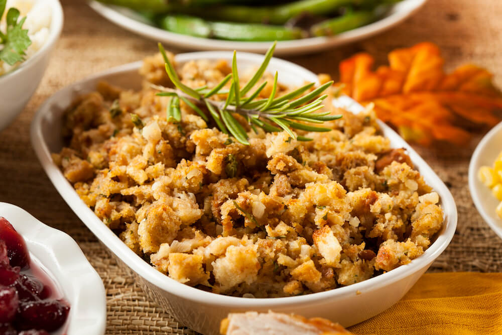 sausage stuffing, ketogenic stuffing, paleo stuffing